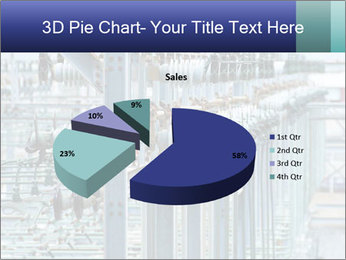 Multiple Power Lines PowerPoint Template - Slide 35