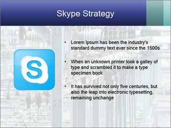 Multiple Power Lines PowerPoint Template - Slide 8