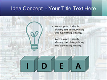 Multiple Power Lines PowerPoint Template - Slide 80
