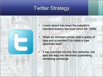 Multiple Power Lines PowerPoint Template - Slide 9