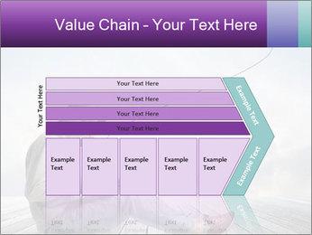 Man using a laptop PowerPoint Template - Slide 27
