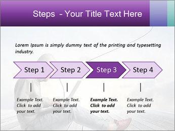 Man using a laptop PowerPoint Template - Slide 4