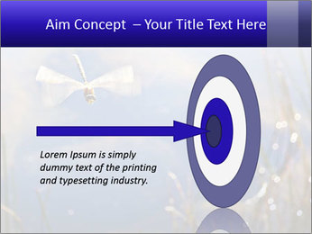 Dragonfly approaching PowerPoint Template - Slide 83