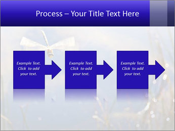 Dragonfly approaching PowerPoint Template - Slide 88