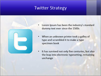 Dragonfly approaching PowerPoint Template - Slide 9