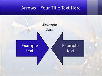 Dragonfly approaching PowerPoint Template - Slide 90