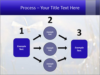 Dragonfly approaching PowerPoint Template - Slide 92