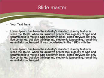 Special forces soldiers PowerPoint Template - Slide 2