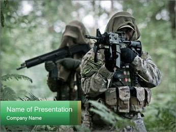 Special forces PowerPoint Template
