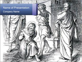 Christian Religion PowerPoint Template - Slide 1