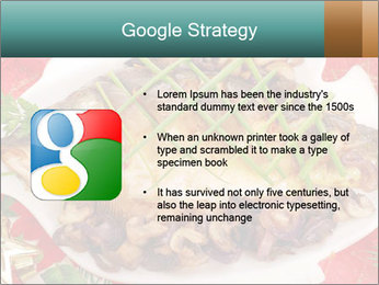 Whole carp baked PowerPoint Template - Slide 10