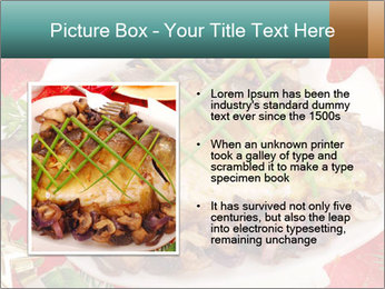 Whole carp baked PowerPoint Template - Slide 13