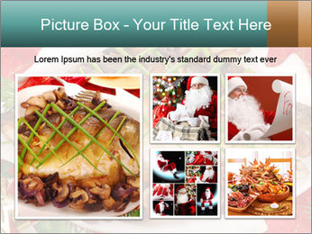 Whole carp baked PowerPoint Template - Slide 19