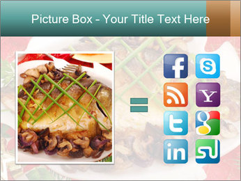 Whole carp baked PowerPoint Template - Slide 21