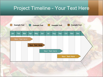Whole carp baked PowerPoint Template - Slide 25