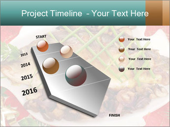 Whole carp baked PowerPoint Template - Slide 26