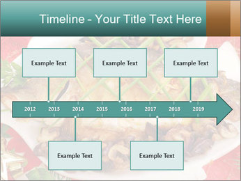 Whole carp baked PowerPoint Template - Slide 28