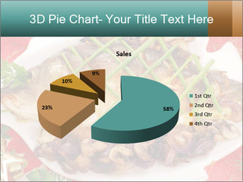 Whole carp baked PowerPoint Template - Slide 35