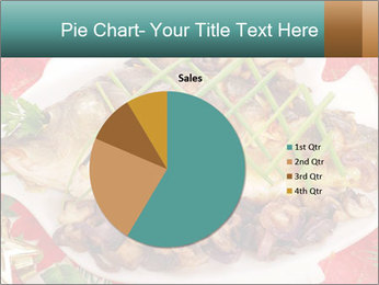Whole carp baked PowerPoint Template - Slide 36