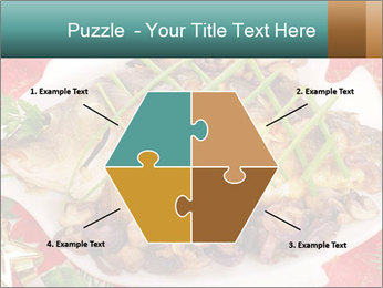 Whole carp baked PowerPoint Template - Slide 40