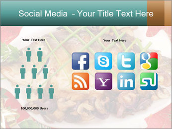 Whole carp baked PowerPoint Template - Slide 5