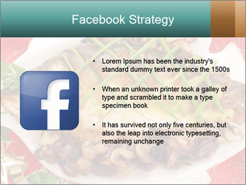 Whole carp baked PowerPoint Template - Slide 6
