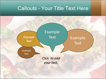 Whole carp baked PowerPoint Template - Slide 73