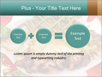 Whole carp baked PowerPoint Template - Slide 75
