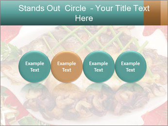 Whole carp baked PowerPoint Template - Slide 76