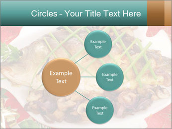 Whole carp baked PowerPoint Template - Slide 79