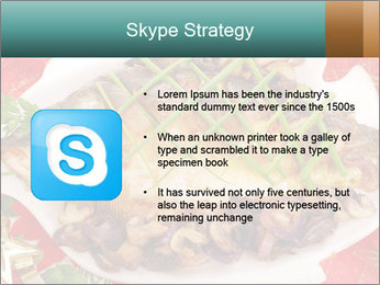 Whole carp baked PowerPoint Template - Slide 8