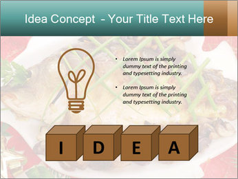 Whole carp baked PowerPoint Template - Slide 80