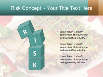 Whole carp baked PowerPoint Template - Slide 81
