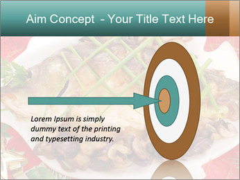 Whole carp baked PowerPoint Template - Slide 83