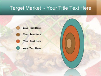 Whole carp baked PowerPoint Template - Slide 84