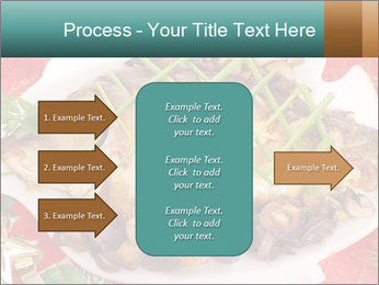 Whole carp baked PowerPoint Template - Slide 85