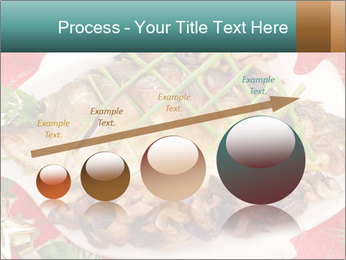 Whole carp baked PowerPoint Template - Slide 87