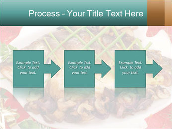 Whole carp baked PowerPoint Template - Slide 88