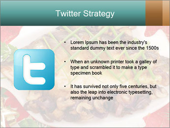 Whole carp baked PowerPoint Template - Slide 9