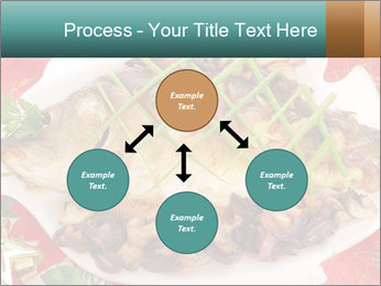 Whole carp baked PowerPoint Template - Slide 91