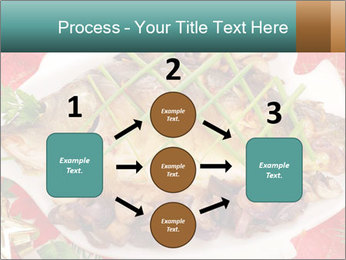Whole carp baked PowerPoint Template - Slide 92