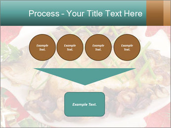 Whole carp baked PowerPoint Template - Slide 93