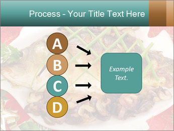 Whole carp baked PowerPoint Template - Slide 94