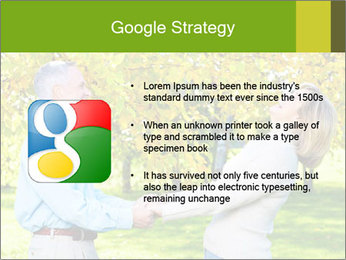 Happy senior couple PowerPoint Template - Slide 10