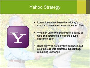 Happy senior couple PowerPoint Templates - Slide 11