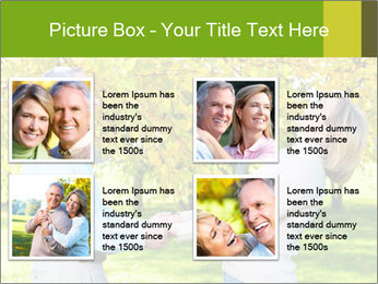 Happy senior couple PowerPoint Template - Slide 14