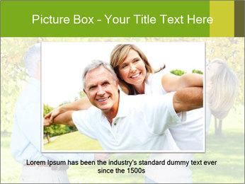 Happy senior couple PowerPoint Template - Slide 15