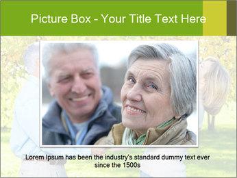 Happy senior couple PowerPoint Template - Slide 16