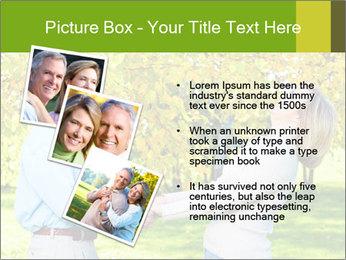 Happy senior couple PowerPoint Template - Slide 17
