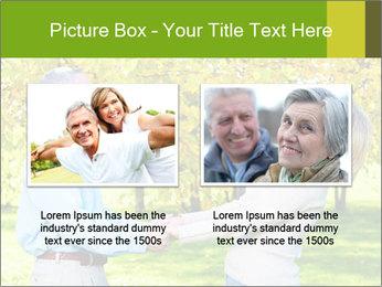 Happy senior couple PowerPoint Template - Slide 18